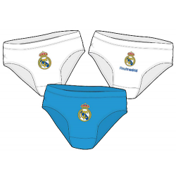 Real Madrid 3 Pack of Boys Slips.