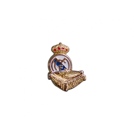 Pin de metal del Real Madrid.