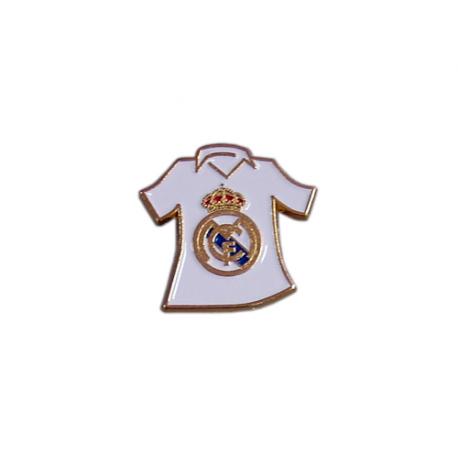 Pin de metal del Real Madrid.