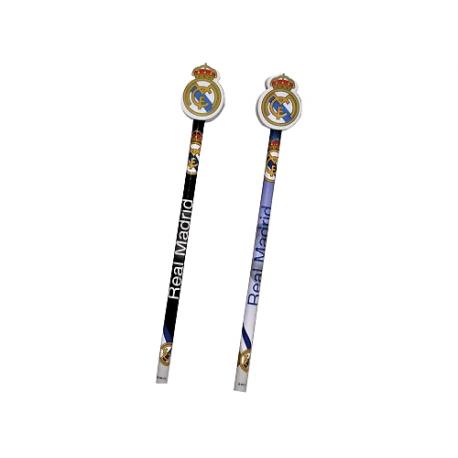 Lápiz con goma del Real Madrid.