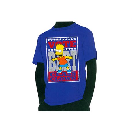 Camiseta algodón niño de Los Simpsons.