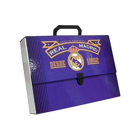Maletín rígido del Real Madrid.