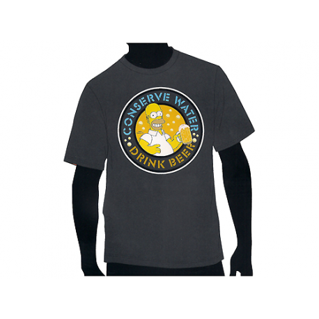 The Simpsons T-shirt.