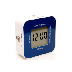 Reloj despertador digital del Real Madrid.