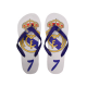 Chanclas piscina del Real Madrid.
