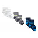 Pack 3 calcetines para niños del Real Madrid 2015-16.