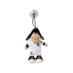 Peluche mouton avec ventouse Real Madrid.