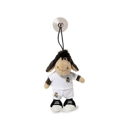 Peluche mouton avec ventouse Real Madrid.