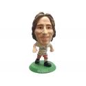 Figura jugador SoccerStarz Modric del Real Madrid.