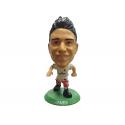 Figura jugador SoccerStarz James del Real Madrid.