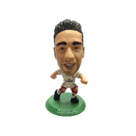 Figura jugador SoccerStarz Carvajal del Real Madrid.
