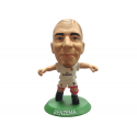 Figura jugador SoccerStarz Benzema del Real Madrid.