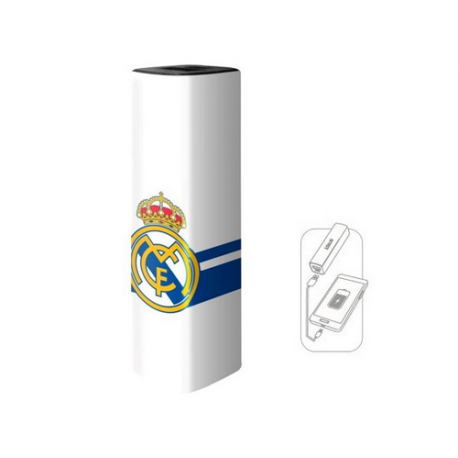 Batterie externe 2600 mAh Real Madrid.