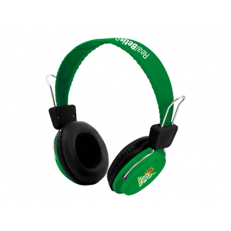 Auriculares del Real Betis.