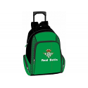 Real Betis Large Backpack with wheels.