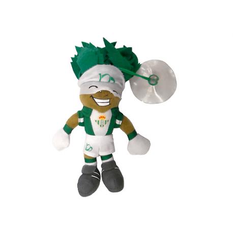 Peluche mascota Palmerín ventosa del Real Betis.