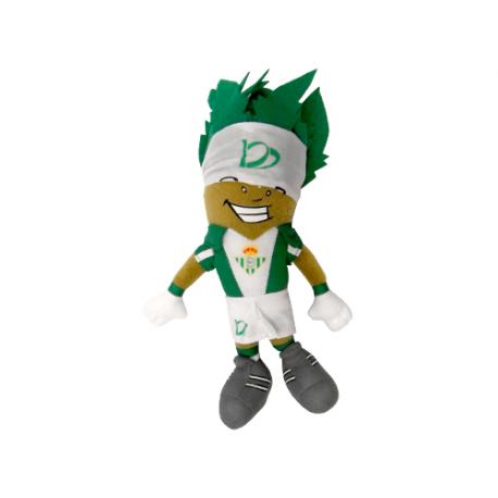 Peluche mascota Palmerín del Real Betis.