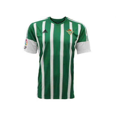 Camiseta oficial 1ª equipación Real Betis 2015-16.