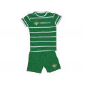 Pyjama adultes Real Betis manches courtes.