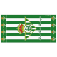 Real Betis Beach towel.