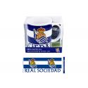 Taza mug porcelana de la Real Sociedad.
