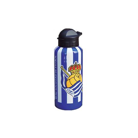 Botella metálica de la Real Sociedad.