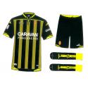 Kit niño 2ª equipación Real Zaragoza 2015-16.