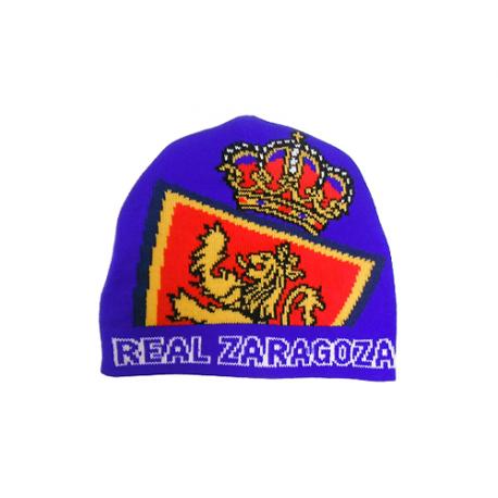 Gorro de calle del Real Zaragoza.