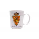 Taza mug porcelana del Real Zaragoza.