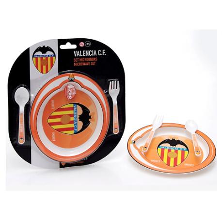 Valencia C.F. Infant 3 piece Tableware.