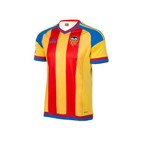 Valencia C.F. Away Shirt 2015-16.