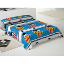 Valencia C.F. Set of sheets 90 cm.