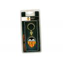 Valencia C.F. metal keyring.