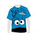 Camiseta algodón para adulto de Barrio Sésamo.