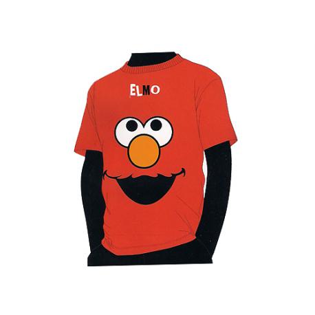 Camiseta algodón para niño de Barrio Sésamo.