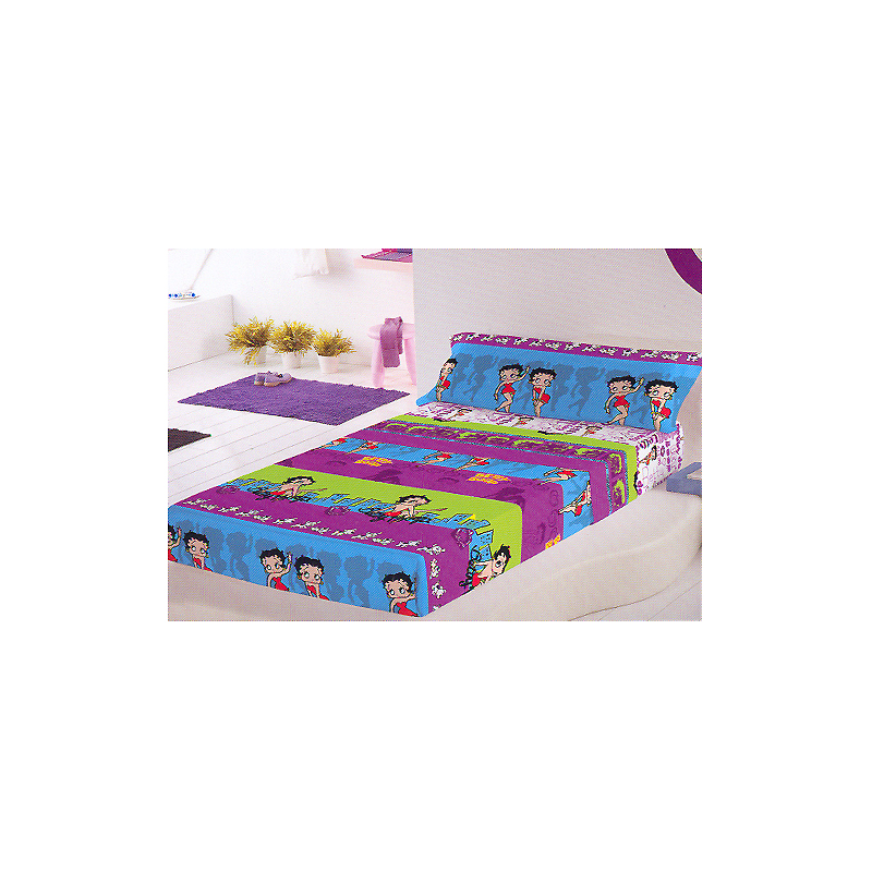 drap plat betty boop 90 cm forofos. Black Bedroom Furniture Sets. Home Design Ideas