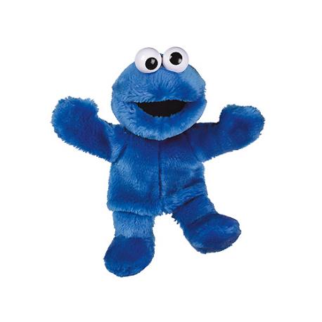 Marionnettes de peluche Cookie Monster Rue Sésame.