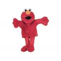 Marioneta de Elmo de Barrio Sésamo.