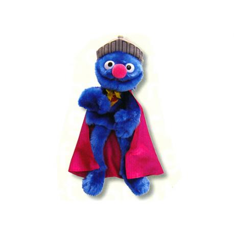 Marionnettes de peluche Super Grover Rue Sésame.