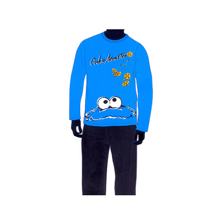 Sesame Street Adult Pyjamas Long Sleeve.