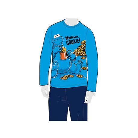 Pijama de adulto de manga larga de Barrio Sésamo.