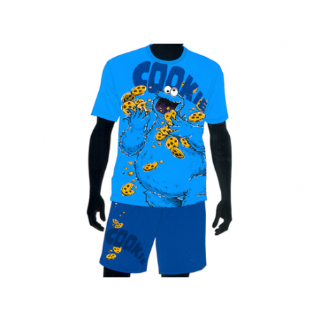 Pijama de adulto de manga corta de Barrio Sésamo.