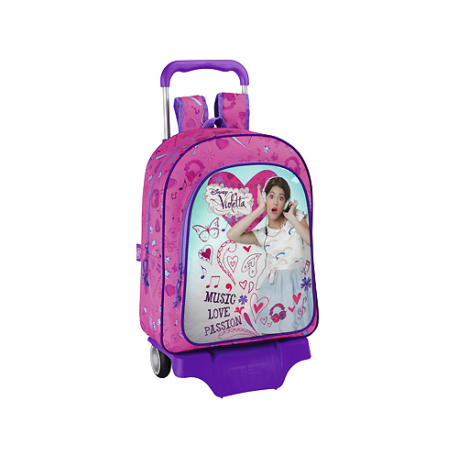Violetta Large Backpack with wheels.