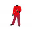 Pijama de niño de manga larga de Barrio Sésamo.