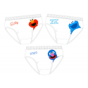 Sesame Street 3 Pack of Boys Slips.