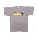 La huella de mortadelo Adult T-Shirt unisex.
