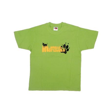 Camiseta niño unisex de La huella de Mortadelo.