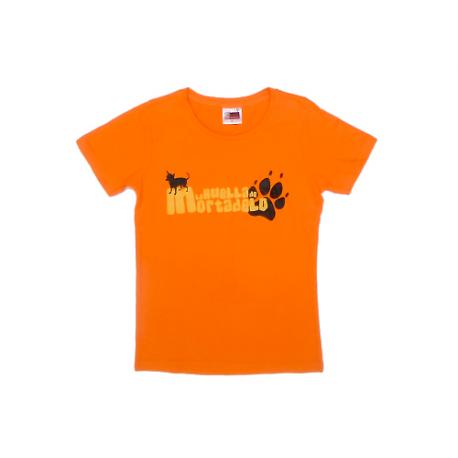 Camiseta chica de La huella de Mortadelo.