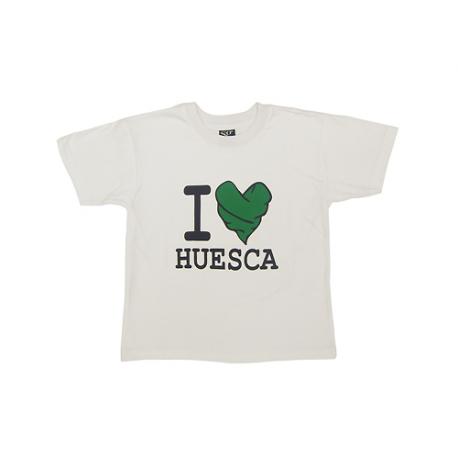 Camiseta manga corta niño/a de Huesca.
