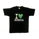 Camiseta manga corta adulto de Huesca.